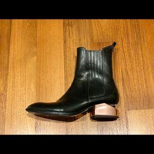 Alexander Wang Anouck boots rose gold 37